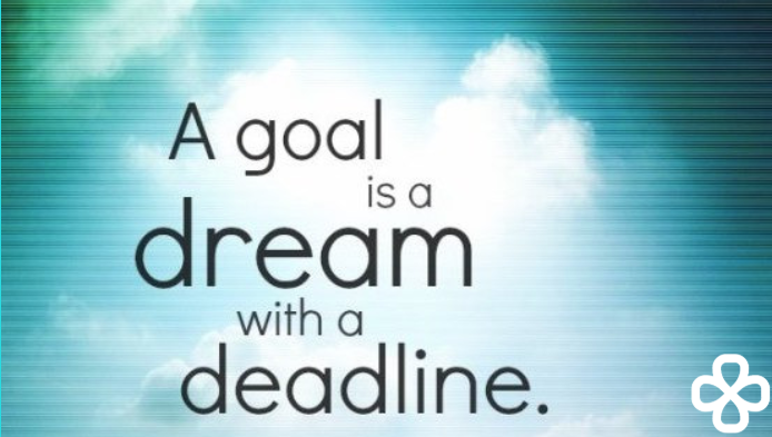 Goal dream deadline idg logo