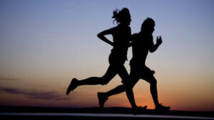 Hardlopen zorgt voor meer geluk