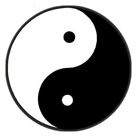 Yin yang balans vinden